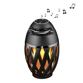 LED Flame Bluetooth® Stereo Speaker
