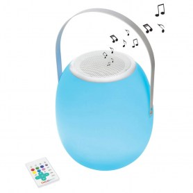 Bluetooth® Light Speaker with handle, color change